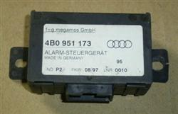 Alarm Steuergerät 4B0951173 Audi A4 Bj. 97 (3419)